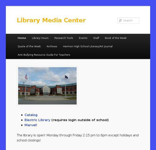picture of hermonlibrary.com