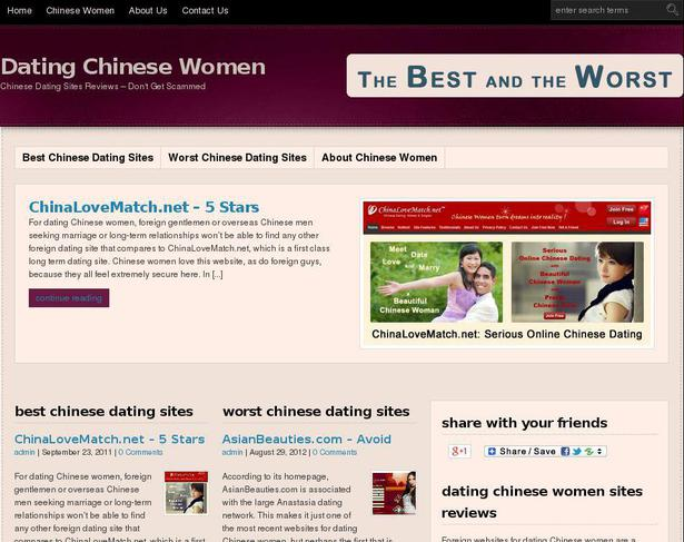 Chinese dating sites for foreign
