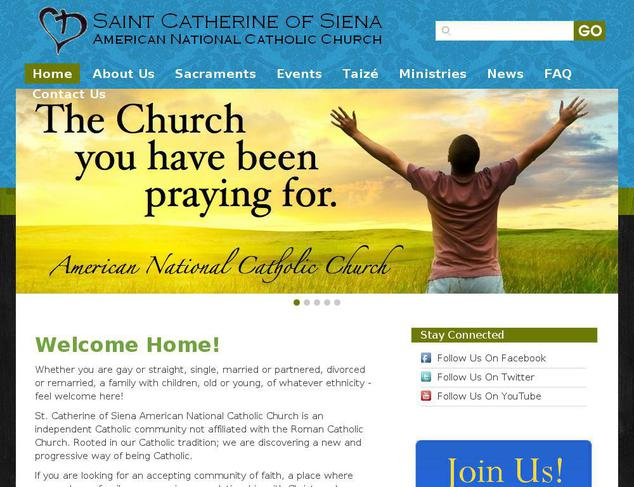 how to create a church website using wordpress
