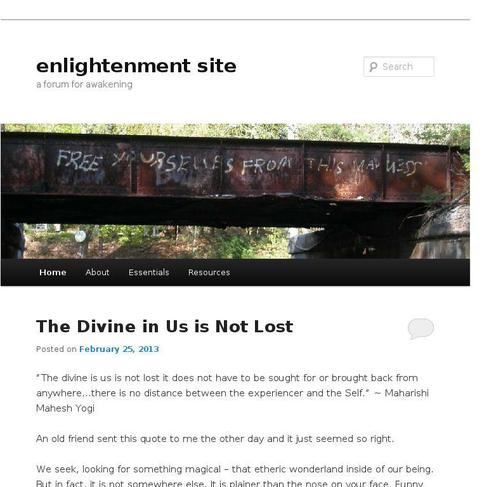 picture of enlightenmentsite.org