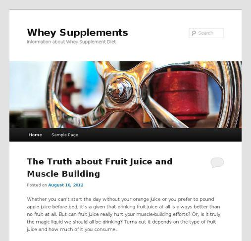 picture of wheysupplements.com