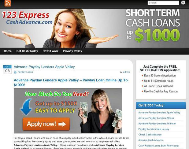 Apple valley payday loans wenatchee