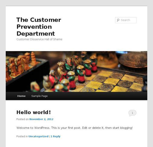 picture of customerprevention.com