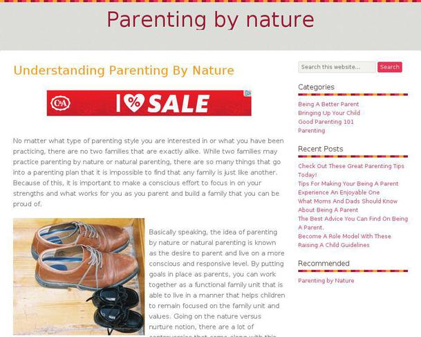 basic types of parenting styles and