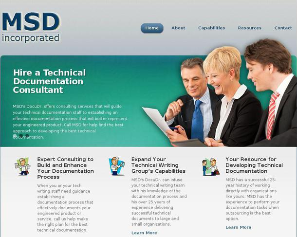 technical writing website Web site design and hosting, domain registration, technical writing.