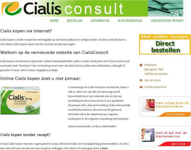 Cialis Online Consultation