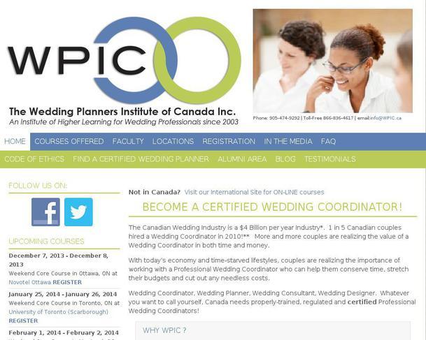 Website Wpic Ca Created Using Wordpress Theme Pixel Happy