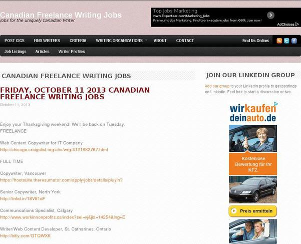 Creative Writing Online Jobs