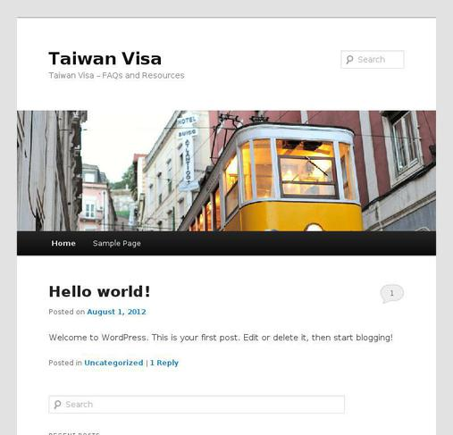 picture of taiwanvisa.org