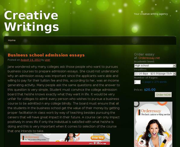 themes for creative writing Have you ever been asked to write a creative story, but you had no idea what to write about sometimes the opposite happens and there are too many ideas to narrow down to just one.