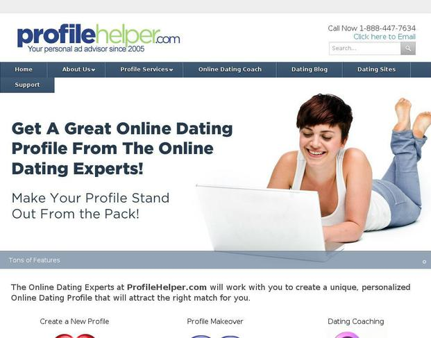 Help creating online dating profile