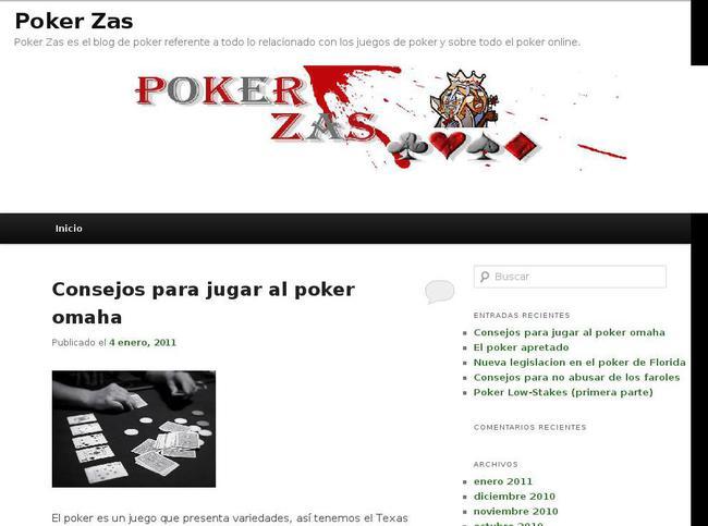 picture of pokerzas.com