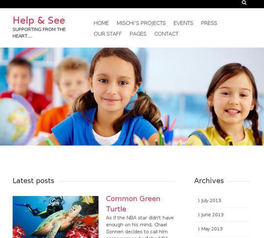 charitas wordpress