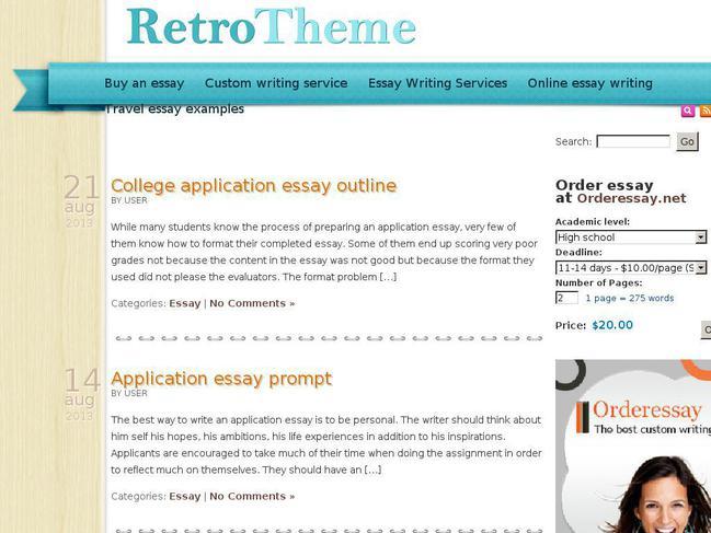 free essay sites