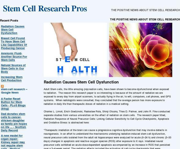 research paper on stem cell research