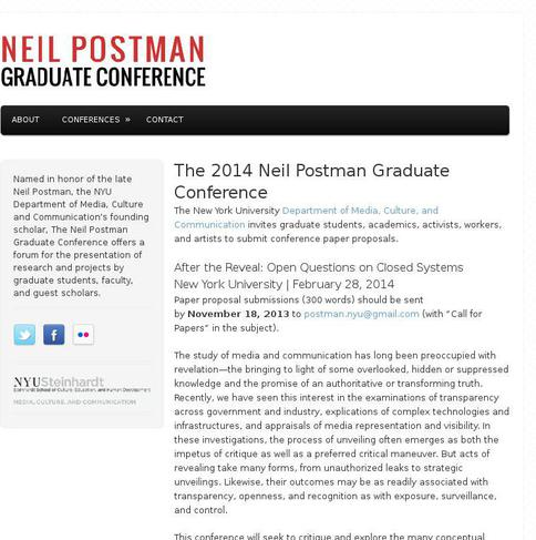 neil postman the new generation of unruly students