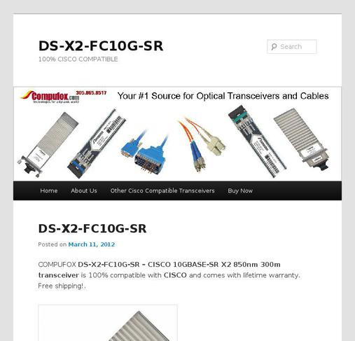picture of ds-x2-fc10g-sr.com