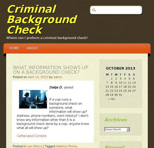 background check current address