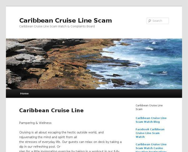 picture of caribbeancruiselinescam.info