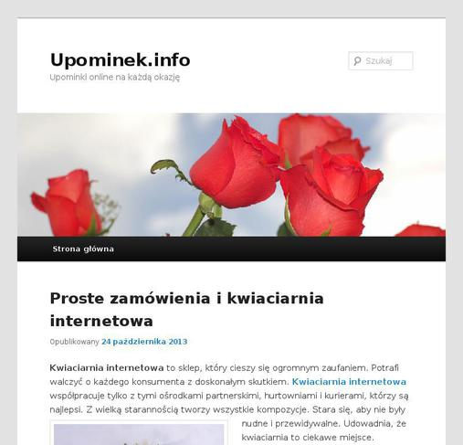 picture of upominek.info