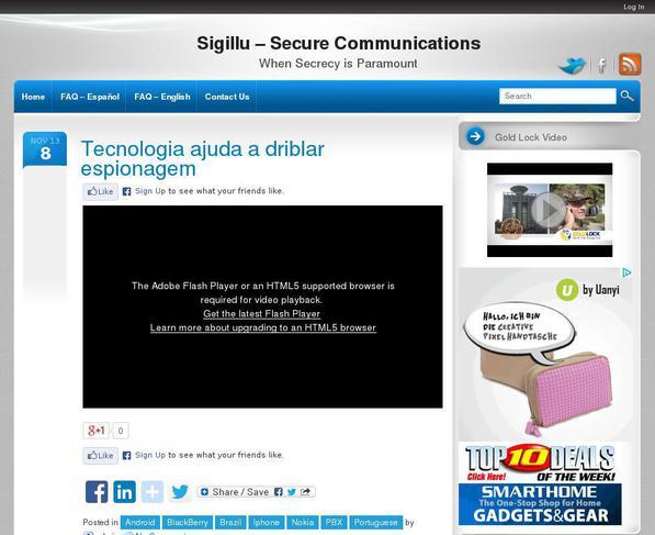 picture of criptotelephone.com