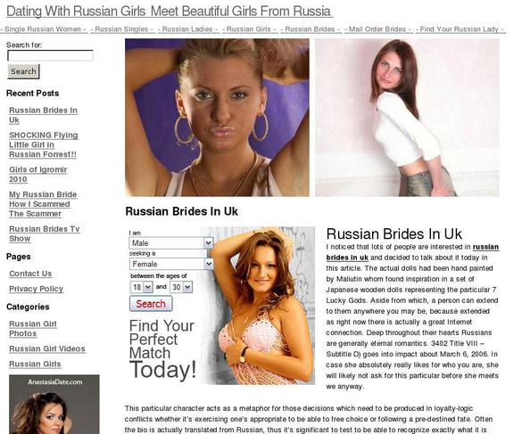 Online Russian Girls Dating with Marry Brides