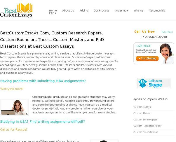Custom writing sites