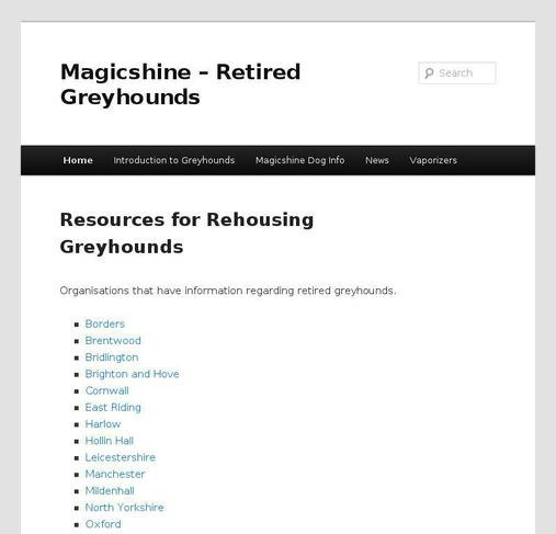 picture of retiredgreyhounds.org