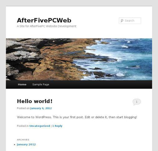 picture of afterfivepcweb.com