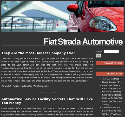 case study for fiat auto and Case study: chrysler-fiat partnership chrysler is the 3rd-largest us auto company and is a trusted brand with chrysler-fiat strategic alliance case study.