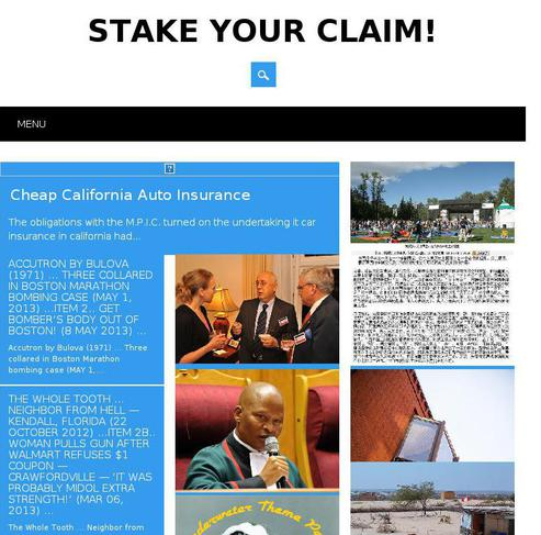 stake your claim Stake your claim limited - free company information from companies house including registered office address, filing history, accounts, annual return, officers, charges, business activity.