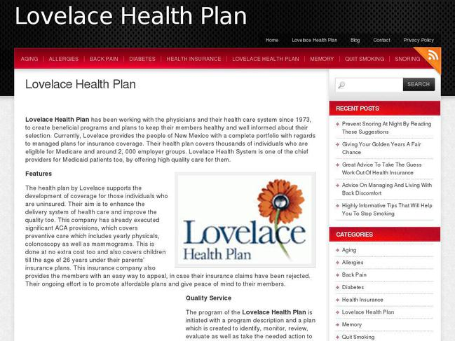 Lovelace health insurance quotes