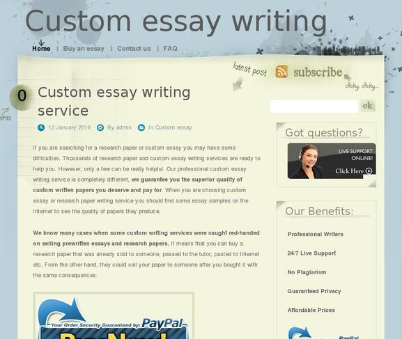 when custom essay y Fast but top quality essay writing service fastcustomessaywriting we are a specialized custom essay i had to depend on this writing service to complete y essay.