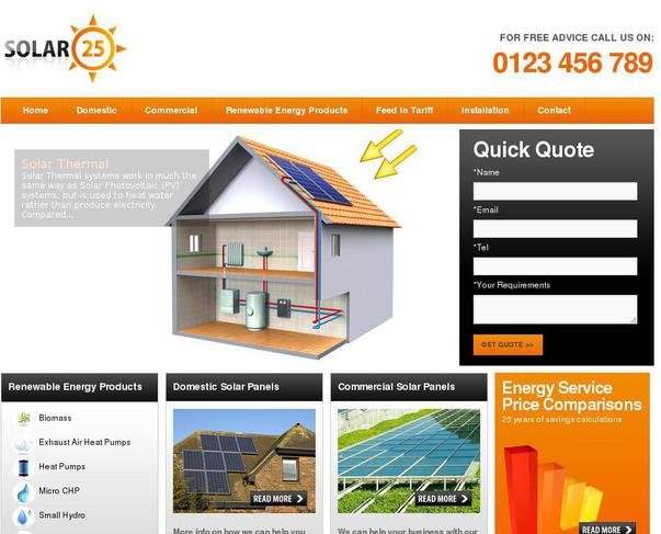 Website Solar25 Co Uk Created Using Wordpress Theme Twenty
