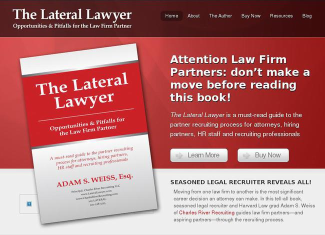 Website laterallawyer.com created using WordPress Theme Opti